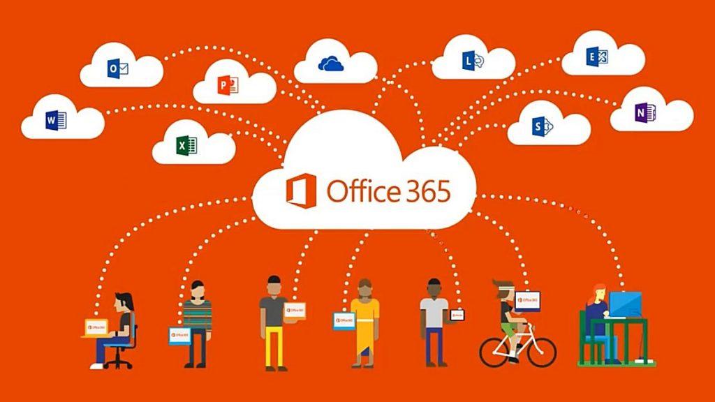 Microsoft Office 365 promotional image