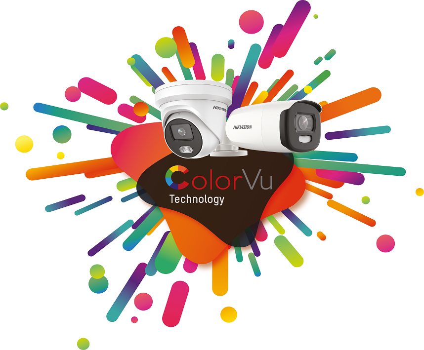 ColorVu Cameras - Both a bullet and a dome camera