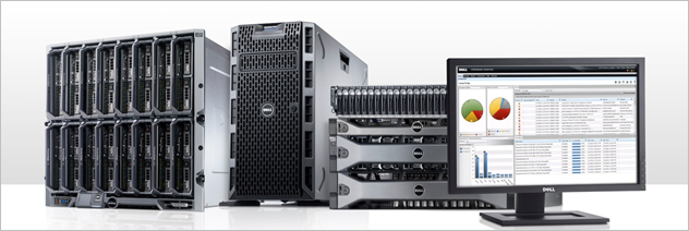 Dell Servers with how the analytics look on the desktop